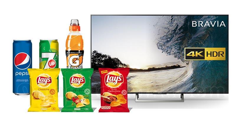 Vinci TV con Pepsi e Lay's