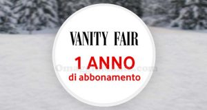 Vodafone Happy Friday 1 anno di abbonamento a Vanity Fair