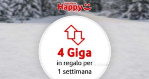 Vodafone Happy Friday 4 giga in regalo per 1 settimana