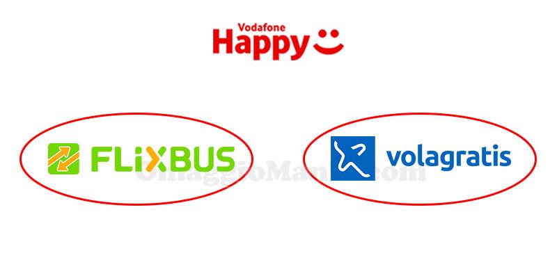 Vodafone Happy Friday Flixbus Volagratis
