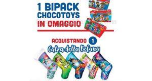 bipack chocotoys con Calza della Befana Dolci Preziosi