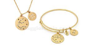 bracciale collana Chrysalis segni zodiacali