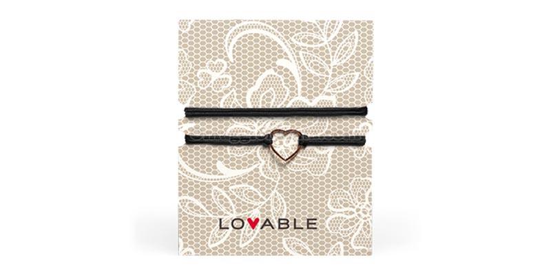 braccialetto collana Lovable regalo benvenuto 2018