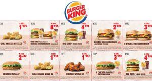 buoni sconto Burger King fino al 19 marzo 2018