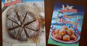 calendario e ricettario Paneangeli Carnevale 2018 di Sole