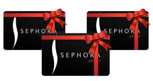 carte regalo Sephora gift card