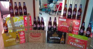 casse di birra Peroni ricevute gratis da Giulia con Cuore Peroni 2017-2018