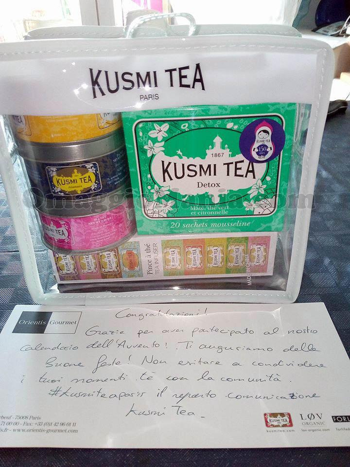 cofanetto Kusmi Tea di Stefania