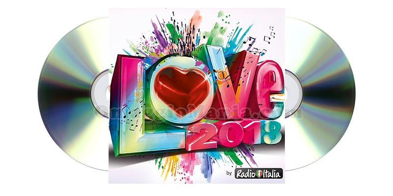 compilation LOVE 2018 Radio Italia
