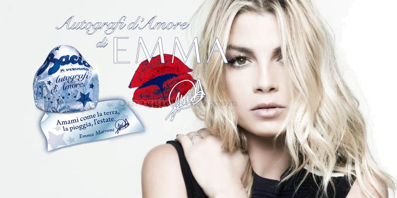 concorso Baci Perugina Autografi d'amore di Emma