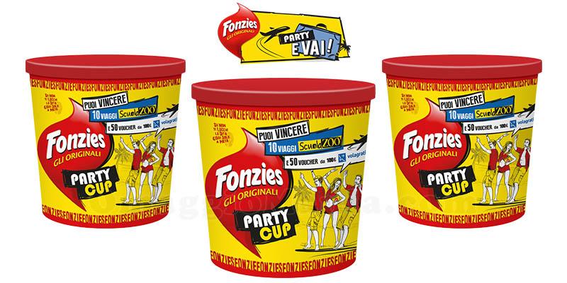 concorso Fonzies Party e vai