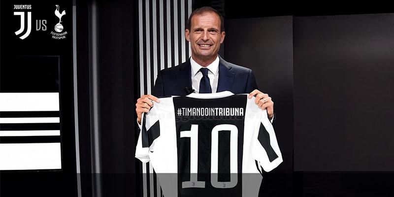 concorso Ti Mando In Tribuna Juventus Tottenham