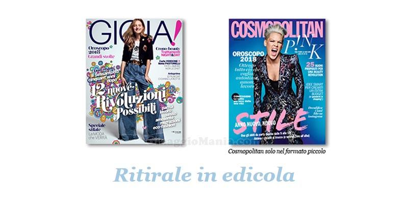 coupon omaggio Gioia 1 Cosmopolitan 1 2018