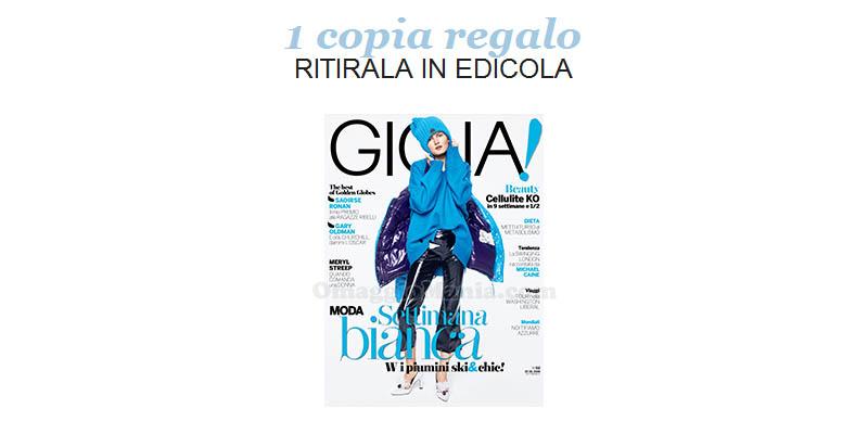 coupon omaggio Gioia 2 2018