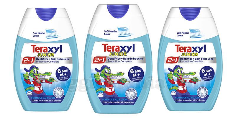 dentifricio 2 in 1 Teraxyl Junior