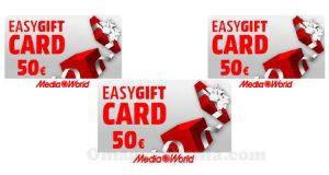 easy gift card MediaWorld 50 euro