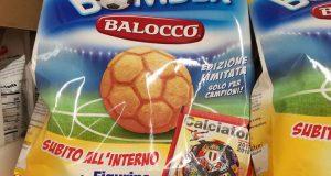 figurine calciatori Panini omaggio da Balocco