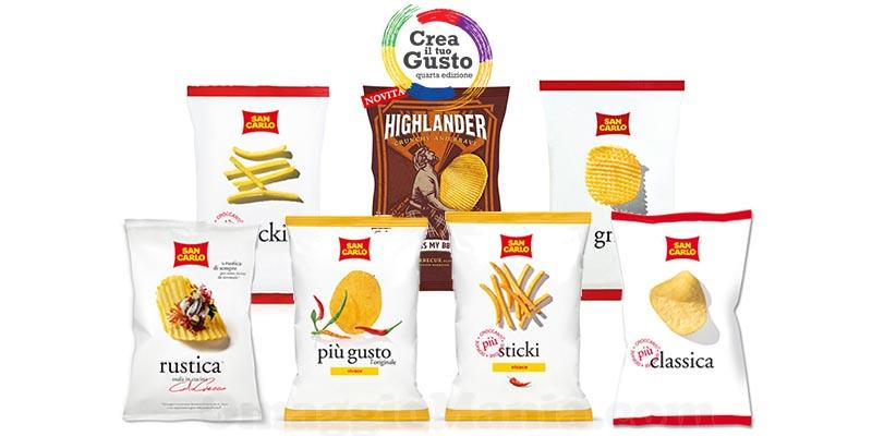 fornitura prodotti San Carlo Crea il tuo gusto 4