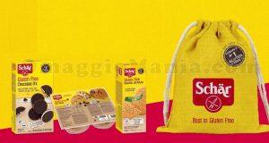kit prodotti Schär e sportbag