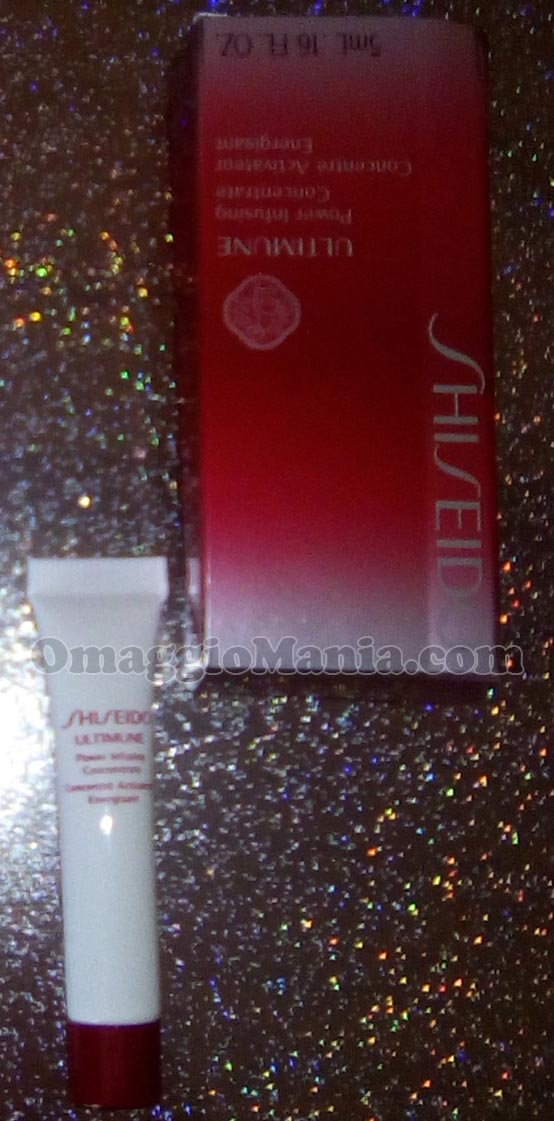 minitaglia di Shiseido Ultimune Power Infusing Concentrate di Mery
