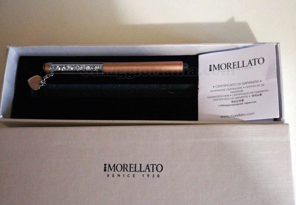 """Penna Morellato Silver Rose Gold con """"Charm e Vinci"""""""