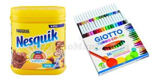 pennarelli Giotto Turbo Color con Nesquik