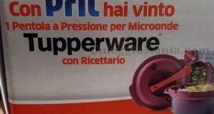 pentola a pressione per microonde Tupperware con Pril di Manuela
