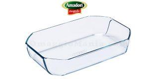 pirofila in vetro Pyrex con Amadori