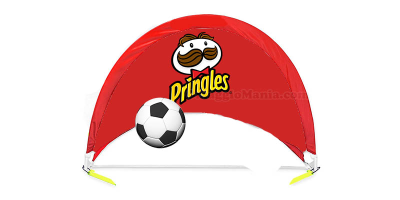 porta da calcio Pringles