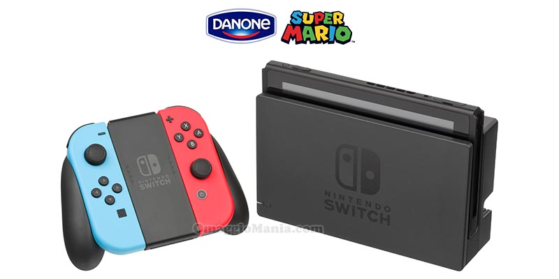 vinci Nintendo Switch con Danone