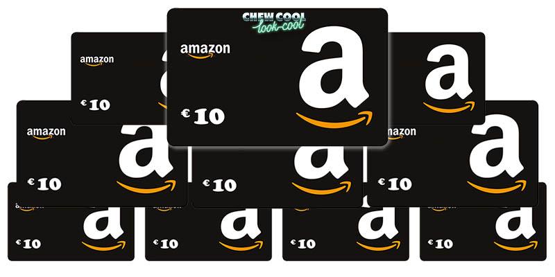 3.000 buoni Amazon da 10€
