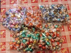 365 cioccolatini Lindor Lindt di Nadia