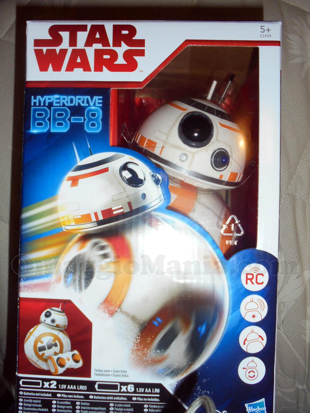 BB-8 di Hasbro con Duracell di Giuseppina