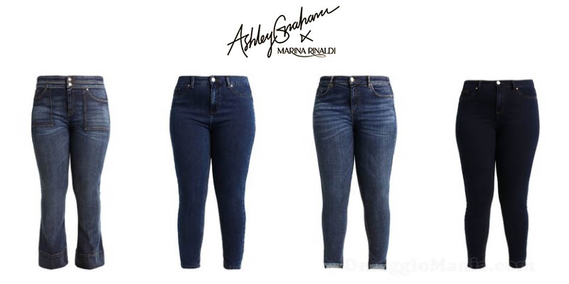 Denim collection Ashley Graham per Marina Rinaldi