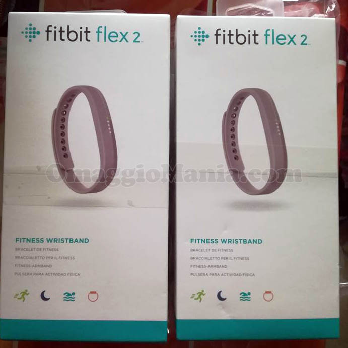 Fitbit Flex 2 di Miriam con Infasil