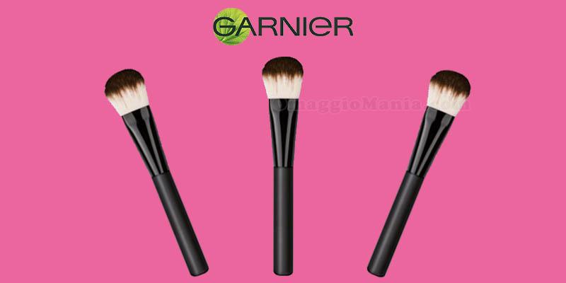 Garnier ti regala un pennello da fondotinta