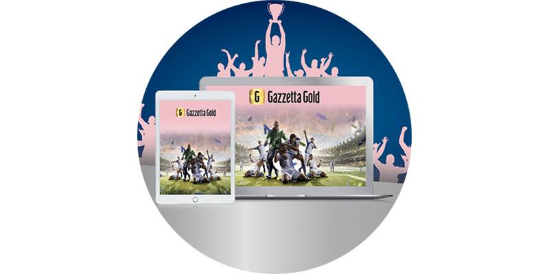 Gazzetta Gold con Nivea Men