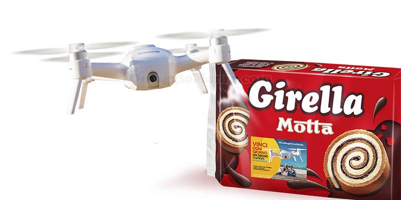 Girella Motta vinci ogni giorno un drone