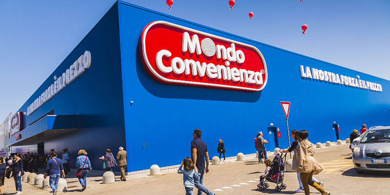 Mondo Convenienza punto vendita
