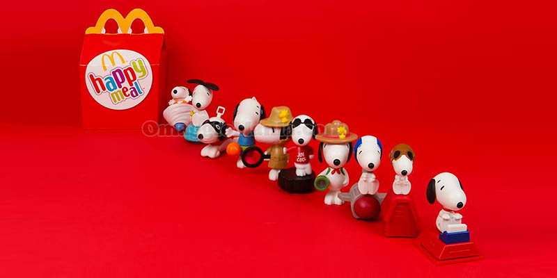 Snoopy Happy Meal McDonald's