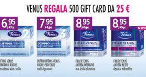 Venus regala 500 gift card Tigotà da 25€