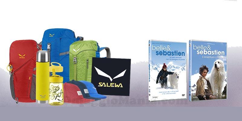 Belle & sebastien e euronics: vinci kit salewa dvd o vacanza in