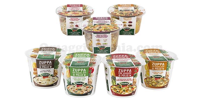 Zuppe e Ricette del Giorno Amadori