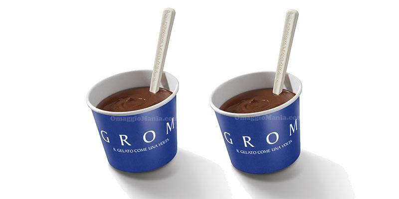 assaggi cioccolata calda Grom gratis