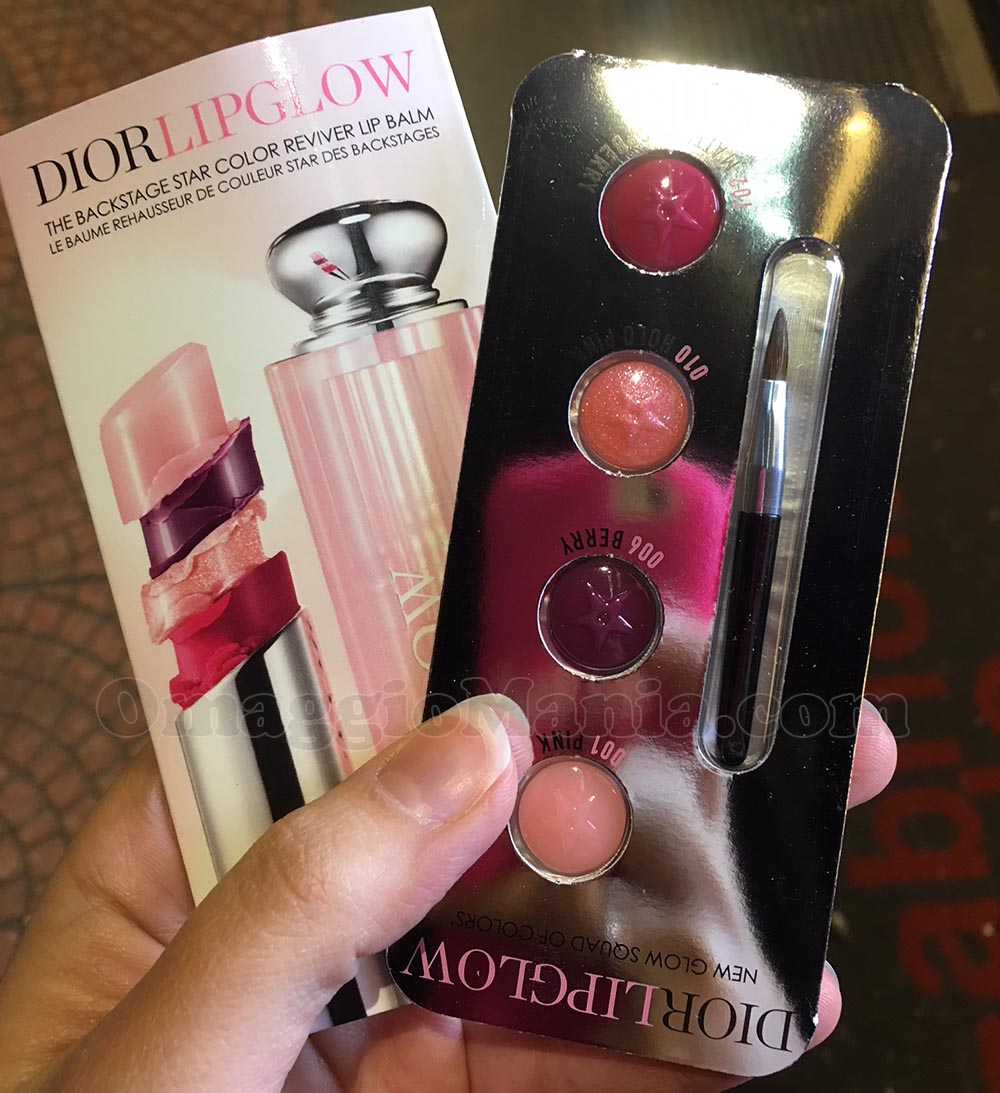 bubble card Dior Lip Glow di Federica