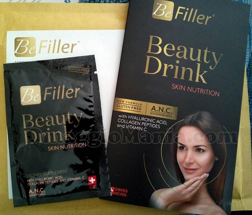 campione omaggio BeFiller Beauty Drink di Stefania