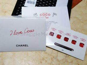 campione omaggio Chanel Rouge Coco Gloss di Catia