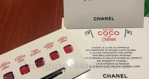 campione omaggio Chanel Rouge Coco Gloss di Daniela
