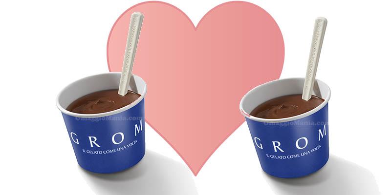 cioccolata calda Grom San Valentino 2018