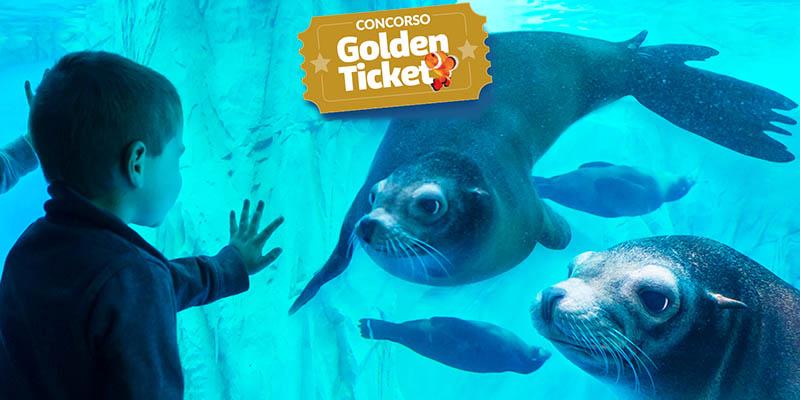 concorso Golden Ticket Gardaland Sea Life Aquarium
